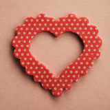 De achtergrond van het hartsymbool Stock Afbeelding