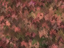 De achtergrond van het de herfstthema  vector illustratie
