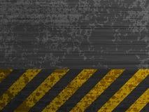De achtergrond van het het metaalmalplaatje van Grunge. EPS 8 stock illustratie