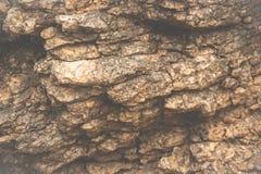 De achtergrond van het het patroonbehang van de mozaïekbakstenen muur met retro kleurenstijl Stock Fotografie