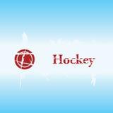 De achtergrond van het hockey grunge Stock Foto's