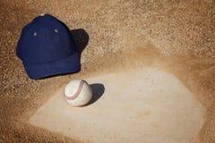 De Achtergrond van het honkbal Stock Afbeeldingen