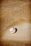 De Achtergrond van het honkbal infield Royalty-vrije Stock Fotografie
