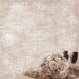 De achtergrond van het huwelijk Royalty-vrije Stock Fotografie