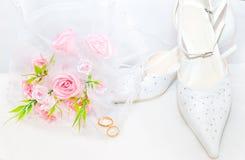 De achtergrond van het huwelijk Royalty-vrije Stock Afbeelding