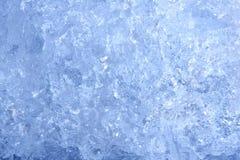 De achtergrond van het ijs Stock Foto's