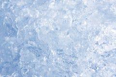De achtergrond van het ijs Stock Fotografie