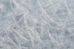 De achtergrond van het ijs Stock Afbeelding