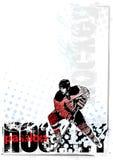 De achtergrond van het ijshockey Stock Afbeelding