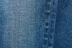 De achtergrond van het jeanspatroon Stock Foto