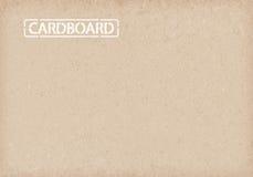 De achtergrond van het karton Verpakkend document Royalty-vrije Stock Afbeeldingen