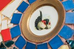 de achtergrond van het keramische tegelpatroon royalty-vrije stock foto's