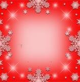 De achtergrond van het Kerstmiskader Royalty-vrije Stock Afbeeldingen