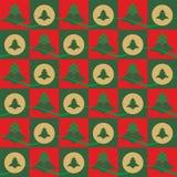 De achtergrond van het Kerstmispatroon Royalty-vrije Stock Foto's