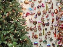 De achtergrond van het Kerstmisspeelgoed Stock Afbeelding