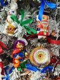De achtergrond van het Kerstmisspeelgoed Stock Foto