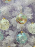 De achtergrond van het Kerstmisspeelgoed Royalty-vrije Stock Afbeeldingen