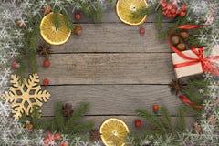 De achtergrond van het Kerstmisthema stock afbeelding