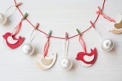 De achtergrond van het Kerstmisthema Royalty-vrije Stock Fotografie