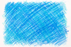 De achtergrond van het kleurpotloodgekrabbel Stock Foto