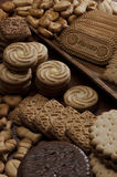 De Achtergrond van het koekje Stock Fotografie