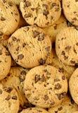 De achtergrond van het koekje Stock Foto's