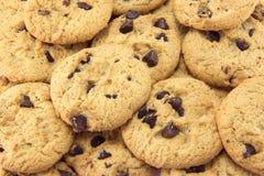 De achtergrond van het koekje. stock afbeeldingen