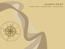 De achtergrond van het kompas Stock Afbeeldingen