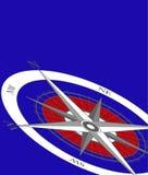 De Achtergrond van het kompas Royalty-vrije Stock Foto