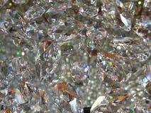 De achtergrond van het kristal Royalty-vrije Stock Fotografie
