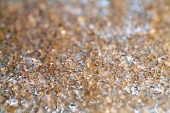De achtergrond van het kristal Stock Afbeelding