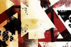 De achtergrond van het kunst grunge ontwerp Royalty-vrije Stock Foto
