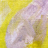 De achtergrond van het kunstcanvas met trillende kleurrijke borstelslagen Stock Afbeeldingen