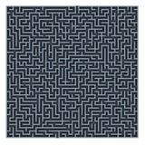 De achtergrond van het labyrint Royalty-vrije Stock Foto's