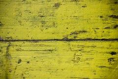 De achtergrond van het land van van gele houten raad Stock Afbeelding