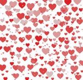 De achtergrond van het liefdehart Royalty-vrije Stock Afbeelding
