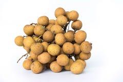 De achtergrond van het Longanfruit Royalty-vrije Stock Afbeelding