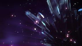 De achtergrond van het Loopablekristal