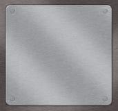 De achtergrond van het metaal stock illustratie