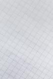 De achtergrond van het millimeterpapier Stock Foto's