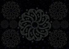 De achtergrond van het mohammedanisme Royalty-vrije Stock Afbeelding