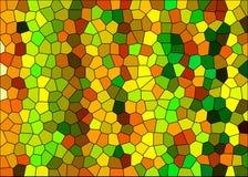 De achtergrond van het mozaïek vector illustratie