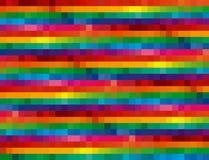 De Achtergrond van het Mozaïek van de regenboog Royalty-vrije Stock Afbeeldingen