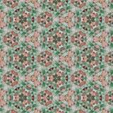 De achtergrond van de het mozaïektegel van de pastelkleurdriehoek Stock Foto