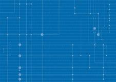 De achtergrond van het netwerk Royalty-vrije Stock Afbeeldingen