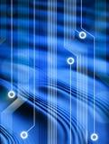 De Achtergrond van het Netwerk van de computer Royalty-vrije Stock Afbeeldingen