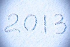 De achtergrond van het nieuwjaar 2013 Stock Foto's