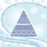 De achtergrond van het nieuwjaar Royalty-vrije Stock Foto's