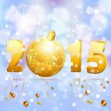 De achtergrond van het nieuwjaar Stock Afbeeldingen