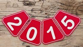 De achtergrond van het nieuwjaar Royalty-vrije Stock Afbeeldingen